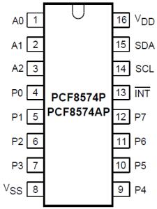 PCF8574P