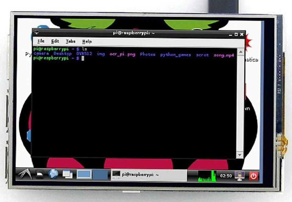"""How to configure RealVNC on a Pi with 3 5"""" LCD 