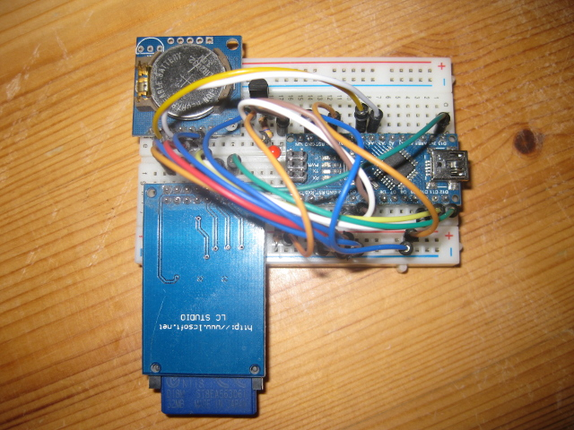 Arduino temperature data logger with sd card and ds